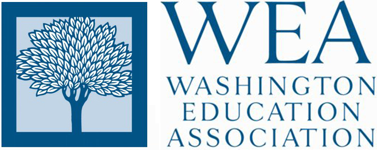 Washington Education Association logo